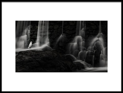 Art print titled The Spirit of the Waterfall by the artist Adolfo Arman