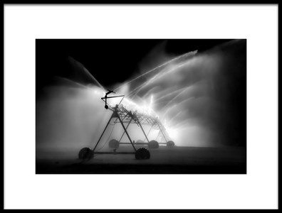 Art print titled The Spraying Monster On Wheels by the artist Andrea Dublaski