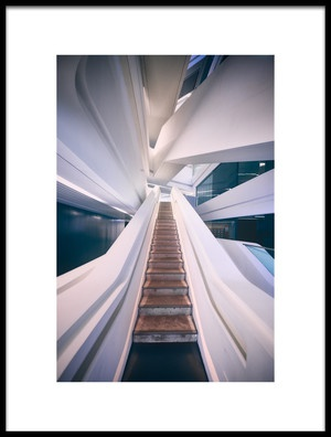 Buy this art print titled The Stair by the artist Javier de la Torre