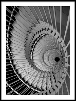 Art print titled The Stair Eye by the artist Peru Serra
