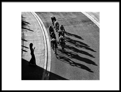 Art print titled The Supporter by the artist Lou Urlings