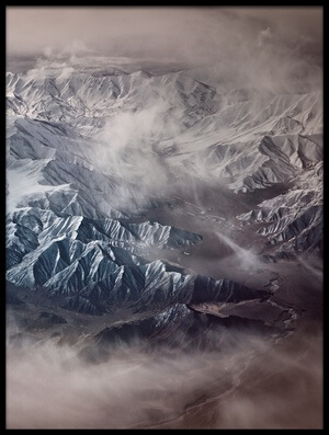 Buy this art print titled The Tibetan Plateau by the artist Martin Van Hoecke
