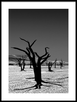 Buy this art print titled The Tree from the Dead by the artist Mathilde Guillemot