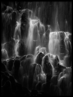 Buy this art print titled The Veiled Beings - Ramona Falls by the artist Shenshen Dou