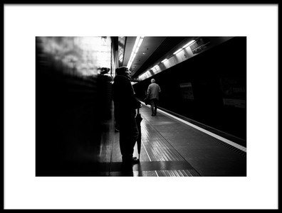 Buy this art print titled The Wait by the artist Giulio Sangiuliano