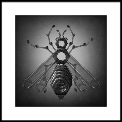 Art print titled The Wasp by the artist Victoria Ivanova