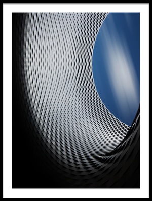 Art print titled The Wave Part II by the artist Olivier Schwartz