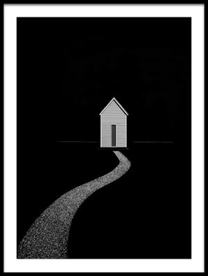 Art print titled The Way Home 2 by the artist Roberto Parola