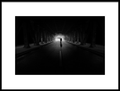 Art print titled The Way Into the Uncertain by the artist Matthias Hefner