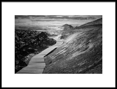 Art print titled The Way To by the artist Mirjam Delrue