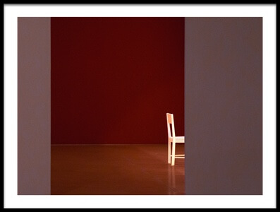 Buy this art print titled The White Chair by the artist Inge Schuster