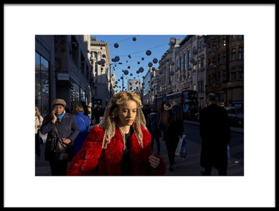 Buy this art print titled The Woman In Red by the artist Lorenzo Grifantini