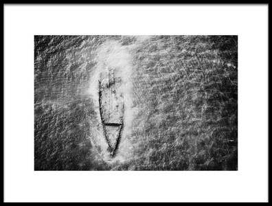 Buy this art print titled The Wrecked Ship by the artist Abbas Ali Amir