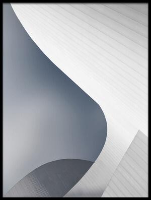 Art print titled Theatre Lines by the artist Jeroen van de Wiel