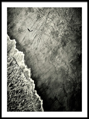 Art print titled They Are Watching by the artist Mirela Momanu