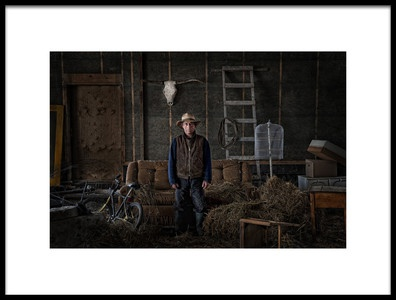 Art print titled This Is My Place by the artist Claude Brazeau