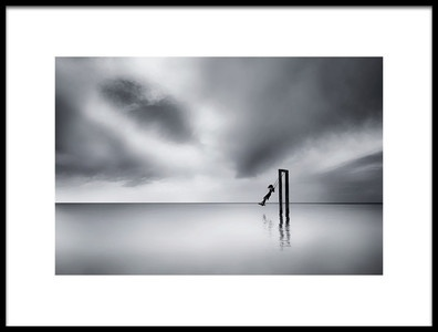 Art print titled This Used to Be My Playground by the artist Maria Kaimaki