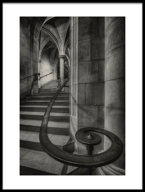 Art print titled This Way Up by the artist Christopher Budny