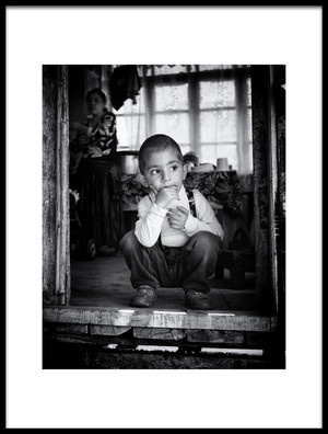 Art print titled Thoughtful by the artist Marcel Rebro
