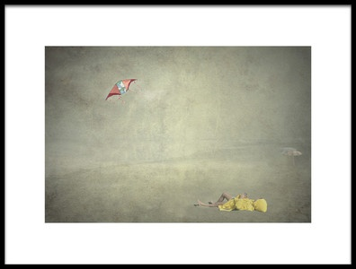 Buy this art print titled Thoughts Fly by the artist Edoardo Gobattoni