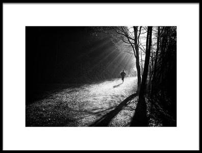 Buy this art print titled Through the Sun Rays by the artist Jurij Bizjak
