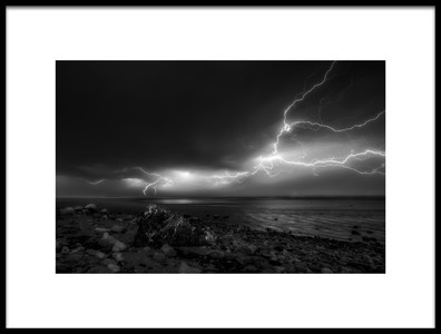 Buy this art print titled Thunder by the artist Shahin Buzarjomehri