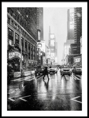 Art print titled Times Square by the artist Jorge Ruiz Dueso