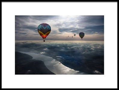 Art print titled To Kiss the Sky by the artist Heather Bonadio