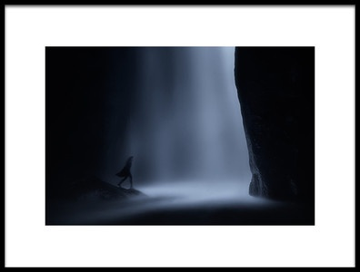 Art print titled To the Edge of Light by the artist Maria Kaimaki
