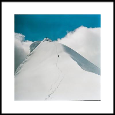 Art print titled To the Peak by the artist Petr Lupínek