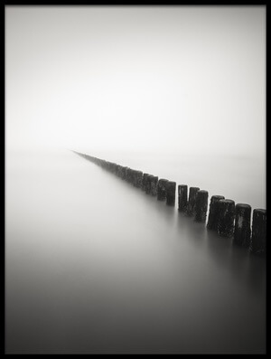Art print titled Together Alone by the artist Christophe Staelens