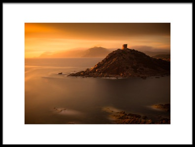 Art print titled Torre Del Porticciolo 2 by the artist Mattias Sjölund