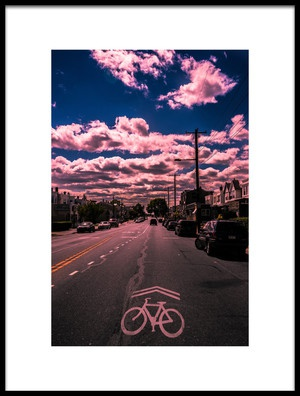 Art print titled Torresdale Ave by the artist Christopher R. Veizaga