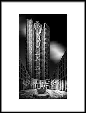 Art print titled Tower 185 by the artist Rolf Mauer