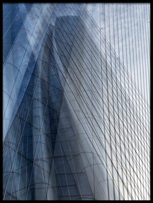 Buy this art print titled Tower Reflection by the artist Massimo Della Latta