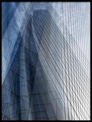 Art print titled Tower Reflection by the artist Massimo Della Latta