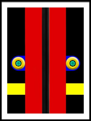 Buy this art print titled Tram Door by the artist Marc Huybrighs