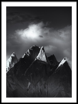 Buy this art print titled Trango Towers II by the artist FEI SHI