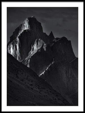 Buy this art print titled Trango Towers III by the artist FEI SHI