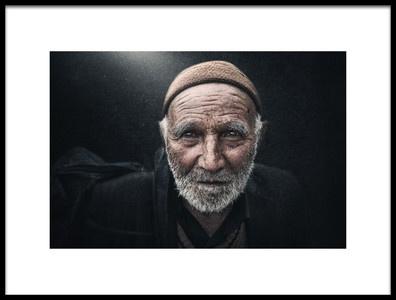 Art print titled Traveler to Imam Hussein by the artist Husain ALSaeed