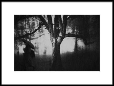 Art print titled Tree by the artist Teruhiko Tsuchida