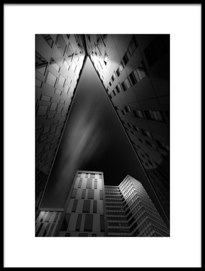 Art print titled Triangle by the artist Matthias Hefner