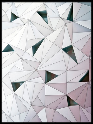 Art print titled Triangulation 1 by the artist Linda Wride
