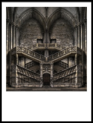 Buy this art print titled Tribute to Escher by the artist Jacek Stefan