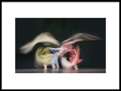 Art print titled Trio3 by the artist Rob Li