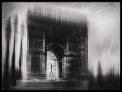Art print titled Triumphal Arch by the artist Oussama Mazouz