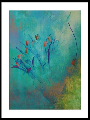 Buy this art print titled Tulips (2) by the artist Delphine Devos