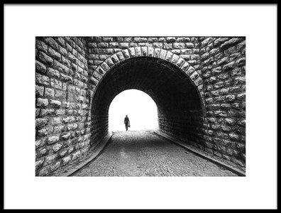Art print titled Tunel by the artist ibrahim arslan