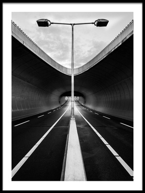 Buy this art print titled Tunnel by the artist Jonathan Lai