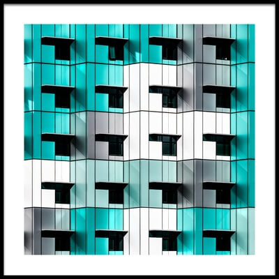 Buy this art print titled Twenty Windows by the artist Wayne Pearson
